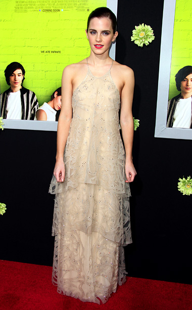 Emma Watson at the Hollywood premiere of The Perks of Being a Wallflower