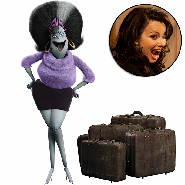 Hotel Transylvania | ''We wanted Frankenstein's wife to be opposite of her husband, so we needed someone to be brash and bombastic and Fran Drescher definitely knows how…