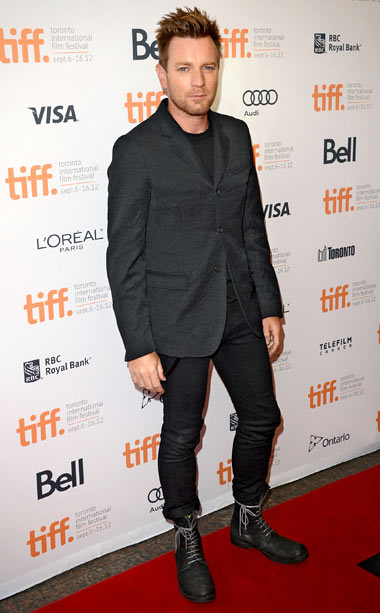 Ewan McGregor at the premiere of The Impossible