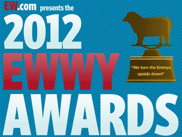 Best Supporting Actress Thank you for voting for the 2012 EWwys!