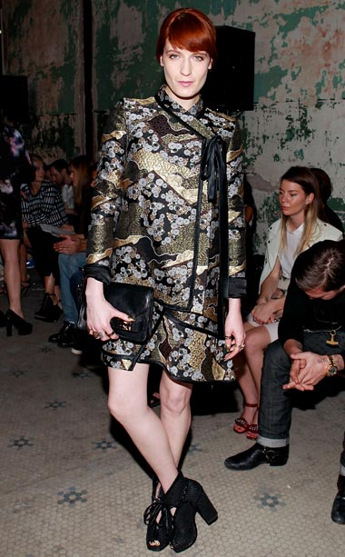 Florence Welch at Proenza Schouler