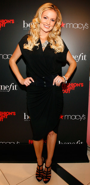 Emily Maynard attends Benefit Cosmetics Beauty Best Or Bust Party on Fashion's Night Out