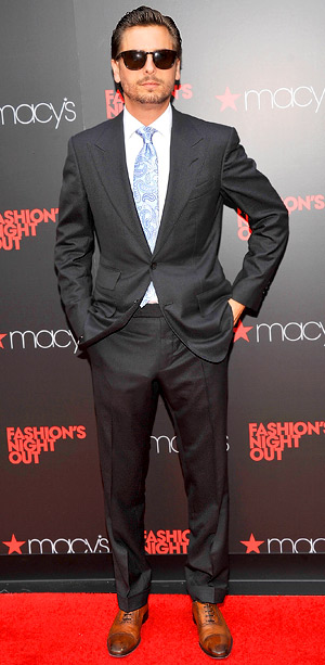 Scott Disick at Macy's Herald Square on Fashion's Night Out
