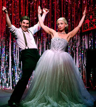 FORBIDDEN BROADWAY: ALIVE AND KICKING Marcus Stevens and Jenny Lee Stern