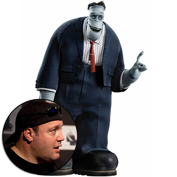 Hotel Transylvania | ''We wanted our Frank to be the ever-lovable uncle,'' says director Tartakovsky, ''and who is more lovable then Kevin James? No matter what character he…
