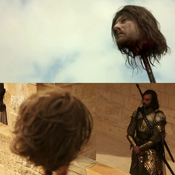Sean Bean, Game of Thrones | When there is a decapitation, does the hair department style the severed head? Yes! ''You get so engrossed in it, looking at this head, and…