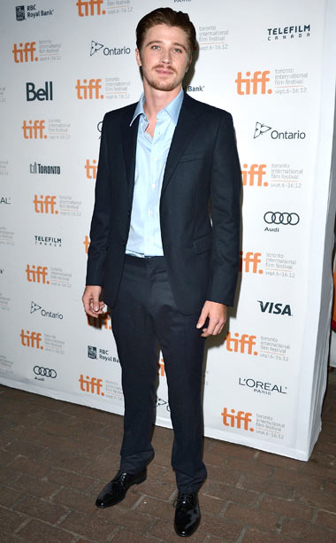 Garrett Hedlund at the premiere of On The Road