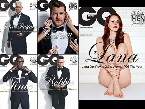 GQ UK COVERS