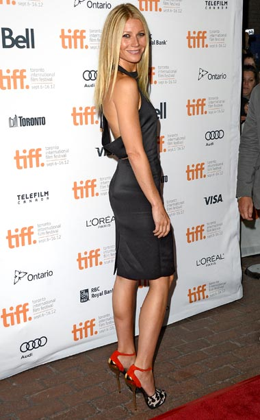 Gwyneth Paltrow (in Tom Ford) at the premiere of Thanks For Sharing