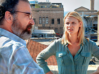 BACK 'HOME' Danes' character Carrie Mathison is in turmoil over her decision to return to her CIA roots