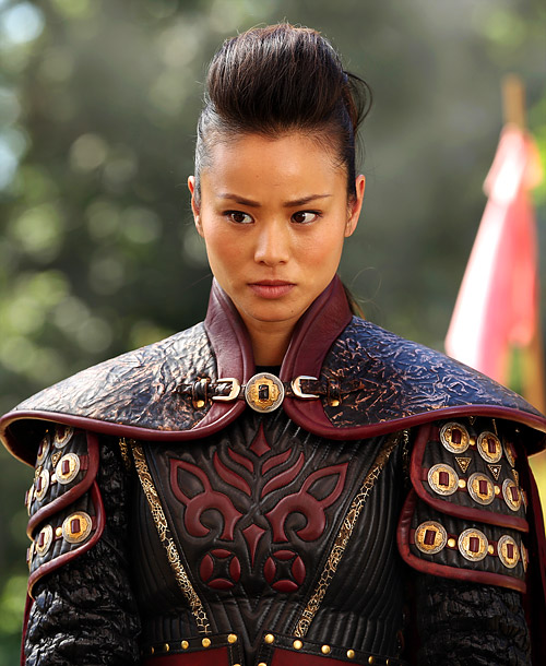 As legendary warriors go, Mulan (Jamie Chung) is the whole package — fierce, strong, and unafraid to give herself a haircut with a sword. Plus,…