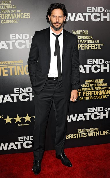 Joe Manganiello at the L.A. premiere of End of Watch