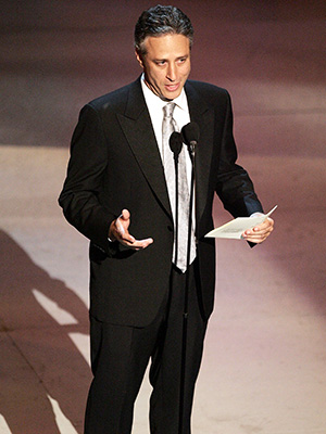 Jon Stewart, Oscars 2006 | Leave it to Jon Stewart to make a political statement that was funny yet inoffensive. In a pre-taped sketch aired during 2005's ceremony, the Daily…
