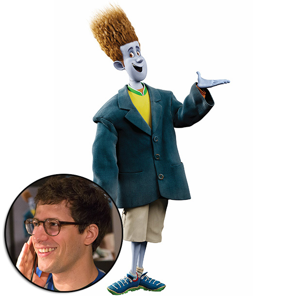 Hotel Transylvania | ''The inspiration for Jonathan really came from Andy Samberg. Andy's voice and performance really helped define the design of this character. Jonathan is kind of…