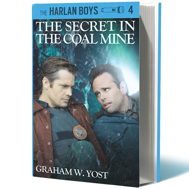 Back Cover Blurb: Raylan and Boyd are up to their old crime-solving tricks again! When their daddies go missing inside the old Coal Mine, the…