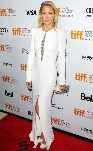 Kate Hudson (in Emilio Pucci) at the premiere of The Reluctant Fundamentalist