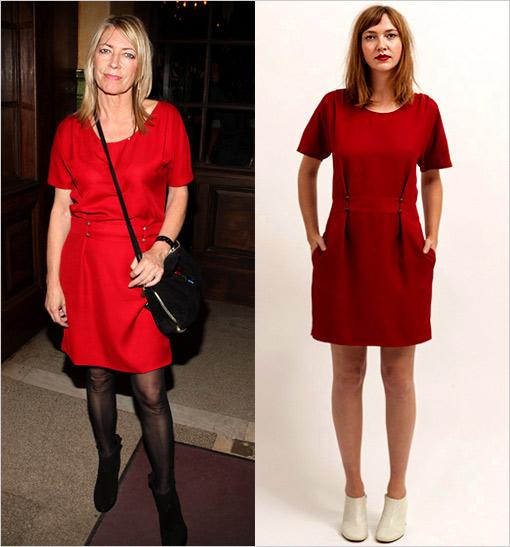 Kim Gordon Red Dress