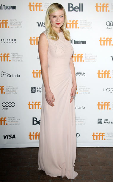 Kirsten Dunst at the premiere of On The Road