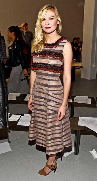Kirsten Dunst at Rodarte