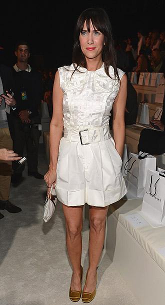 Kristen Wiig at Marc Jacobs