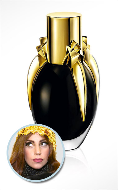 Lady Gaga | Should smell like : Semen and blood Actually smells like : Tears of Belladonna, crushed heart of tiger orchidea, saffron