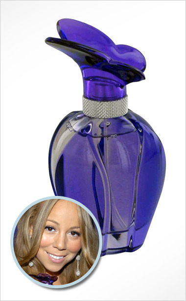 Mariah Carey | Should smell like : Butterflies, cràme blush, nightly foot rubs from Nick Cannon Actually smells like : Meringue, amber, Boca Raton caftan