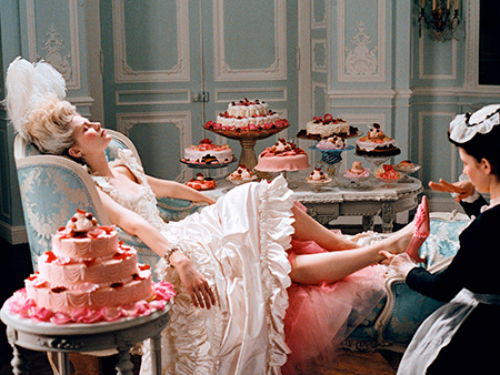Marie Antoinette (Movie - 2006), Kirsten Dunst | Designer: Manolo Blahnik For the footwear in Sofia Coppola's jazzed-up historical biopic, Blahnik, who earned household-name status after Carrie & Co. strutted in his pumps…