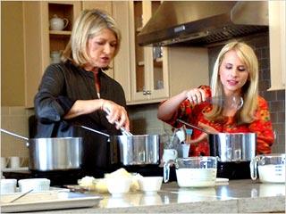 Marthas Cooking School Demo