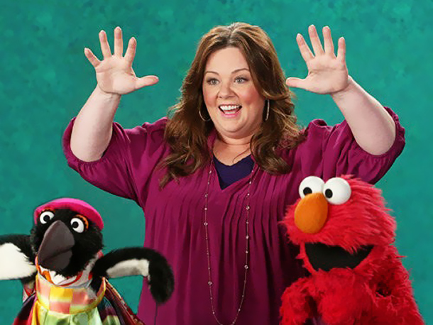 Melissa McCarthy, Sesame Street | Elmo's puppeteer Kevin Clash was completely taken with Melissa McCarthy: ''I think the world of her. She's just a funny lady. I loved her spirit…