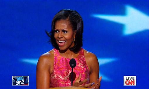 Michelle Obama Dnc 10