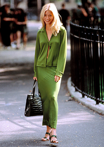 Designer: Donna Karan The designer used pieces from her Fall ?96 collection to dress Gwyneth Paltrow's Estella in this modern re-telling of the classic Charles…
