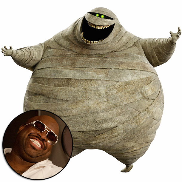 Hotel Transylvania | ''Cee Lo was great because we wanted the mummy to be very boisterous and kind of a big personality and Cee Lo's smooth voice fell…