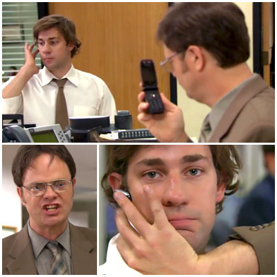 The Office | ''Goodbye Toby'' (season 4, episodes 18 & 19) In one of our favorite cold openings ever, Jim forwards all of Dwight's cell calls to his…