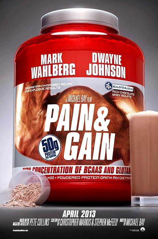 Pain Gain Poster