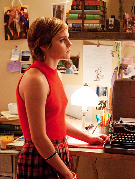 Emma Watson, The Perks of Being a Wallflower | For some, this pleated kilt may conjure memories of Watson in the role that made her famous, but Robinson insists the schoolgirl look is more…