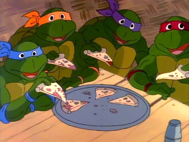 Teenage Mutant Ninja Turtles | 1. You can eat pizza for every meal and still be athletic enough to defeat bad guys in hand-to-hand combat. Then again, Teenage Obese Pre-Diabetic…