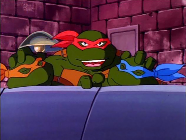 Teenage Mutant Ninja Turtles | 4. You can act like a total jerk all the time, and everyone will still like you. Raphael is cool but rude, which really just…