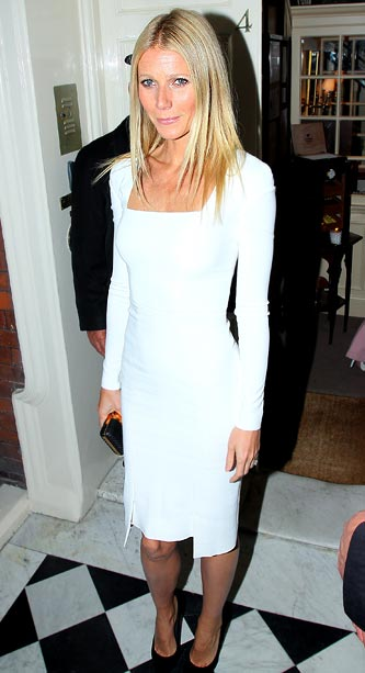 Gwyneth Paltrow at the Obama fundraiser in London