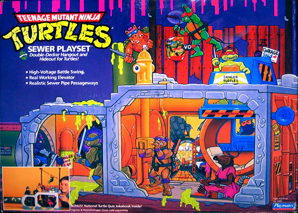 Teenage Mutant Ninja Turtles | 6. You know what's cool? Hanging out in a dark, dank sewer with a giant rat. Head down a manhole in search of the turtles'…