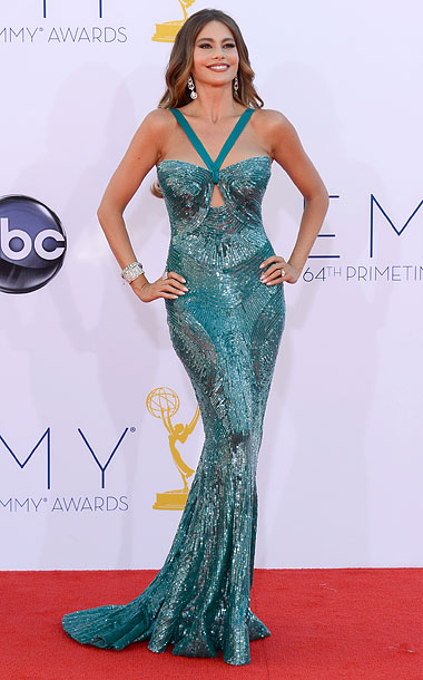 Bronwyn says: At last year's Emmys , Vergara was my hands-down favorite, which makes this look even more disappointing. The dress is a little too…
