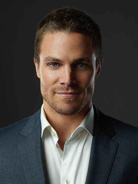 A billionaire (Stephen Amell) who moonlights as Arrow, a bow-and-arrow-wielding vigilante. To put it simply: He can string my bow anytime. — Breia Brissey
