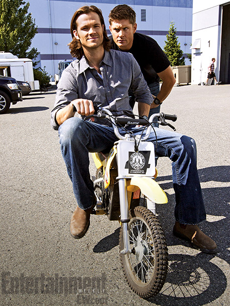 But what's work without a little play? Padalecki says he and Ackles take pride in keeping the mood on set light — even if it…