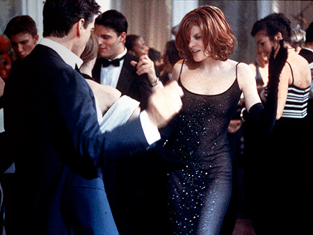 The Thomas Crown Affair (Movie - 1999) | Designer: Celine To play a slick investigator in the caper remake, Rene Russo asked friend Michael Kors, who, at the time, served as creative director…