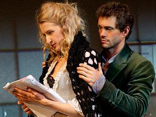 VENUS IN FUR Nina Arianda and Hugh Dancy