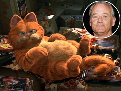 Bill Murray, Garfield | Should there be an exemption for kids' movies? No, since there's actually such a thing as good kids' movies. Murray put his late-career indie street…