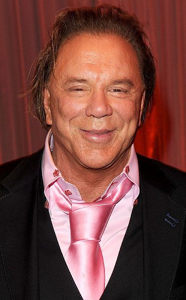 Mickey Rourke noun An actor with whom Jenna has a rather...ummmm... complicated relationship. See also: ''I will break you down completely, and build you up…