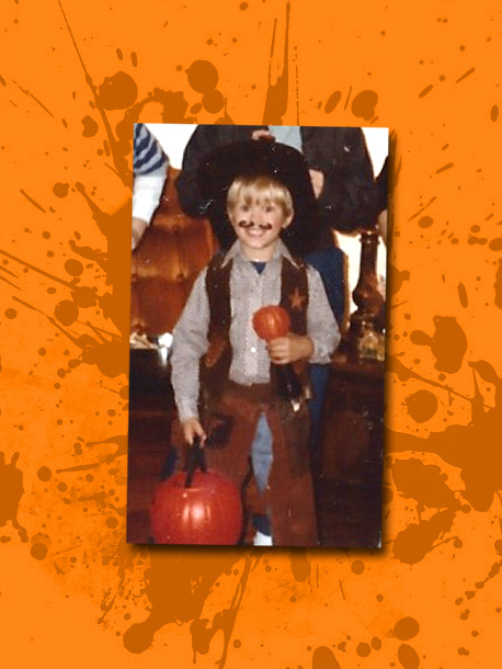''Here I am as a very small sheriff,'' says this NBC star and song-and-dance man of his 5-year-old costume. ''I remember really loving that vest…