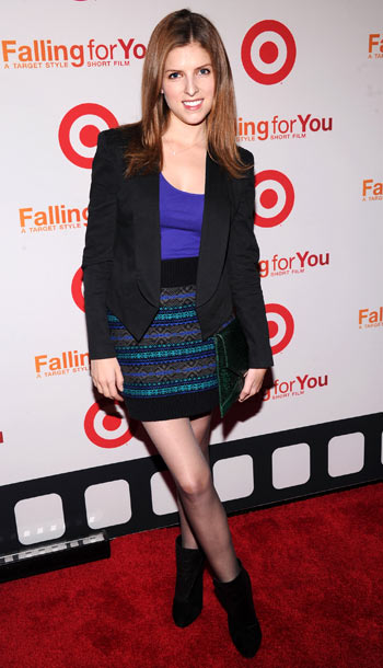 Anna Kendrick at Target's 50th anniversary celebration in New York City
