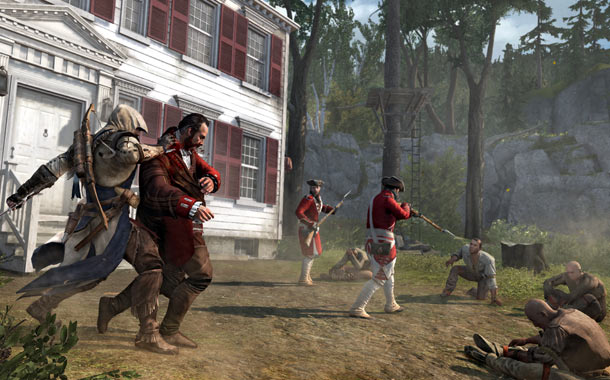 Assassin's Creed 3 | Using the profits of his tea trade, British Empire official William Johnson plans to purchase Connor's peoples' land — even thought they're not selling. As…