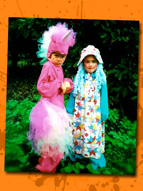No one can call this ABC drama star's 8-year-old Halloween style (left, with her 5-year-old sister) sub-par: ''Like many little girls, I was obsessed with…